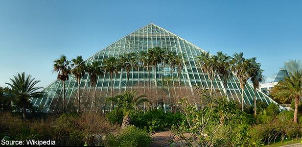 The Rainforest Pyramid, Moody Gardens