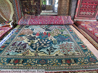 Which one is the flying carpet?