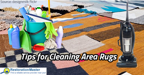 Preserve the good condition of your area rugs with the help of our area rug cleaning tips.