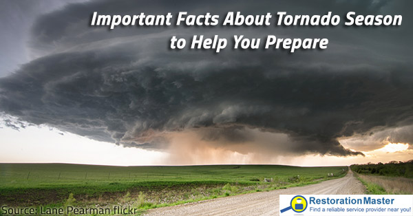 Important Facts About Tornado Season To Help You Prepare