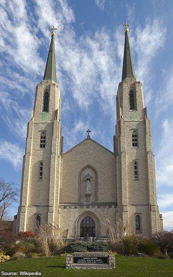 Catedral Católica de la Inmaculada Concepción Fort Wayne Indiana Estados Unidos