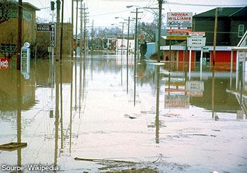 Fort Wayne Flooding in 1982