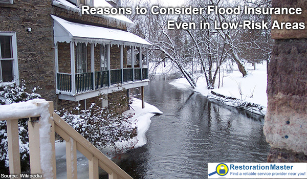 Get your flood insurance