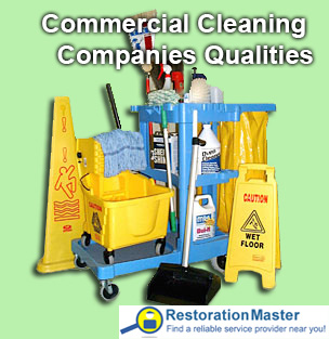 What to look for when hiring a commercial cleaning company?