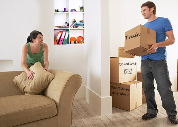 You need to be in the right state of mind to successfully declutter your home.