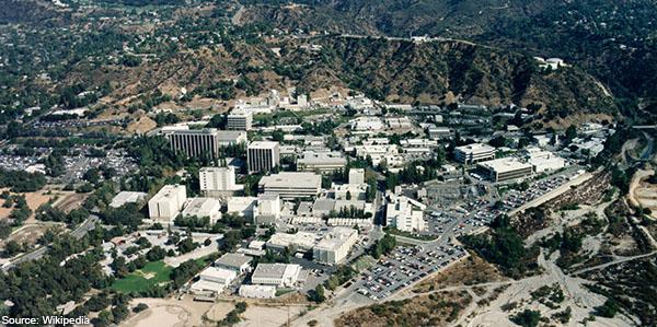 Site du JPL en Californie