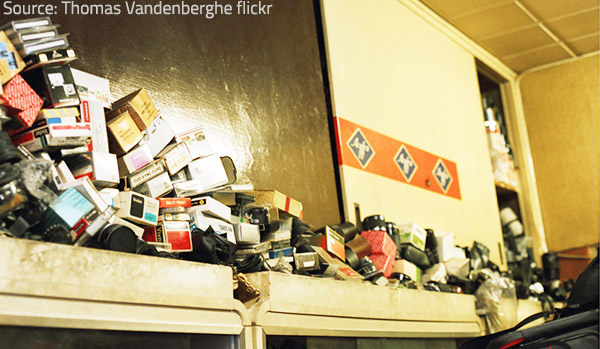 Hoarders cannor realize what the problem is.