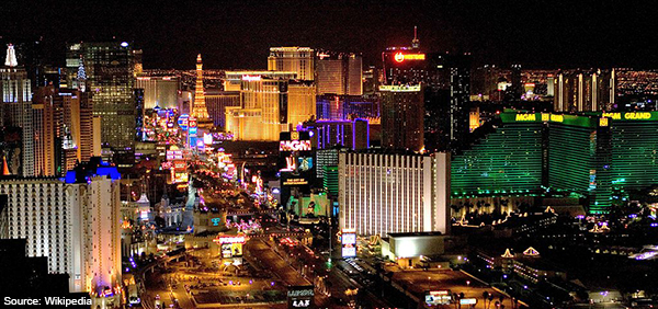 Las_Vegas at night