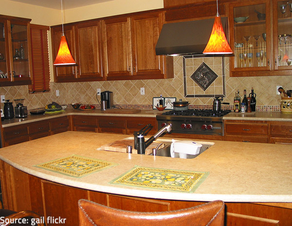 Sealing is very efficient for preserving the good look and feel of your countertops.