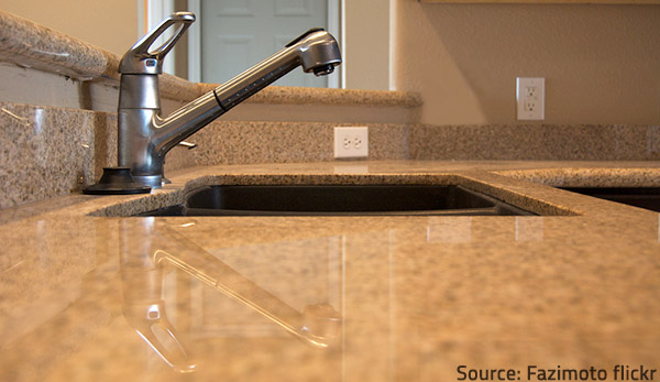 Clean your countertops well before sealing.