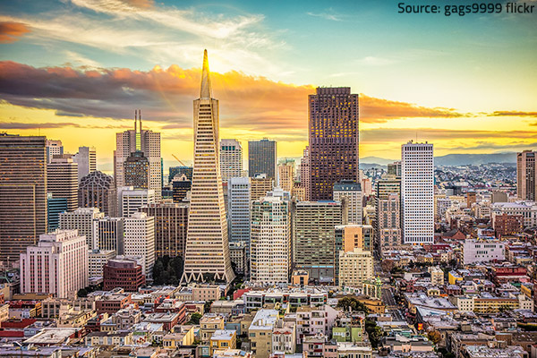 Banking, tourism, green energy and high technology are all very well developed in San francisco.
