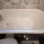 You newly refinished bathtub can stay this clean with the right maintenance.  Source: Flickr