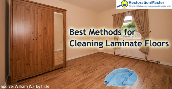 Find out the best way to clean laminate floors.