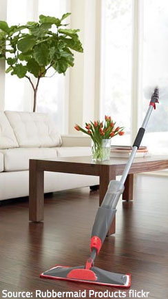 Choose appropriate cleaning products and methods to prevent damage to your floors.