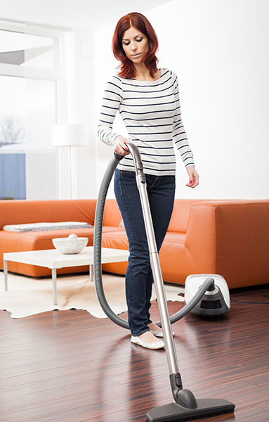 Regular cleaning will help preserve the good look and feel of your laminate floors.
