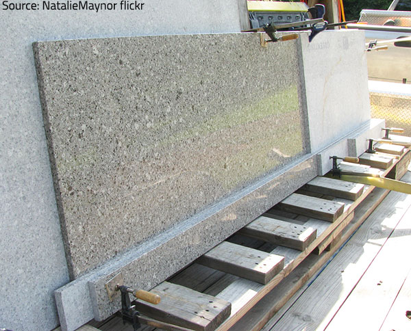 Granite comes in a wide variety of colors and patterns.