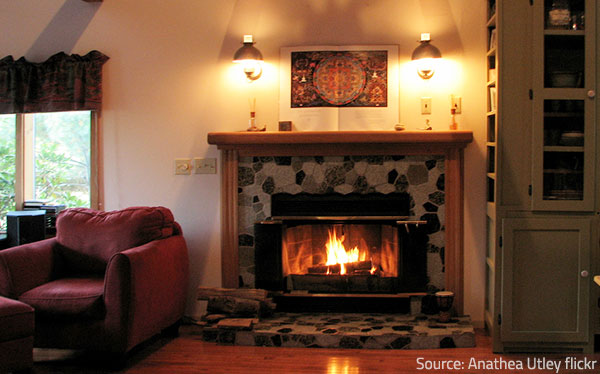 Combustion is one of the main sources of dangerous indoor air contaminants.