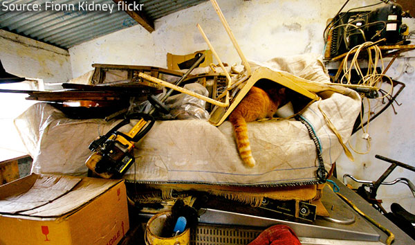If you recognize the typical signs of hoarding early enough, you may be able to prevent greater troubles.