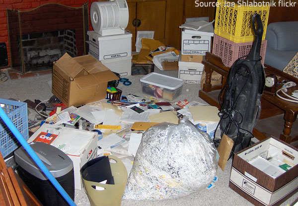 Professional hoarding clean up is often necessary after a hoarder tenant has left the property.