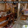 how to deal with hoarding tenants.