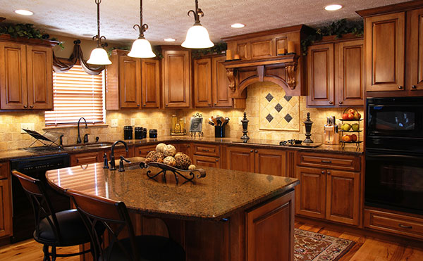 Choosing quartz countertops will enhance the beauty and teh convenience of your kitchen design.