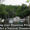 How to prepare your business for a natural disaster.