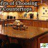 Benefits of quartz countertops.