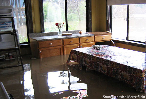 You need to act quick in the unfortunate event of water damage.