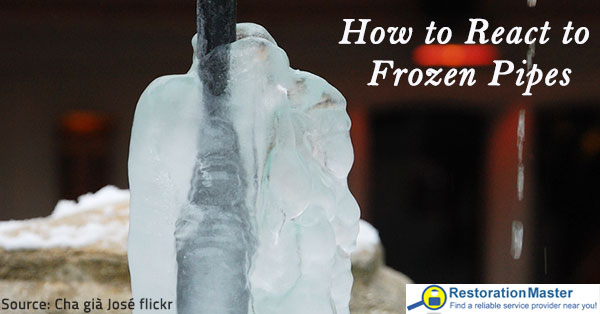 How to unfreeze pipes