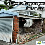 Preparing for an earthquake.