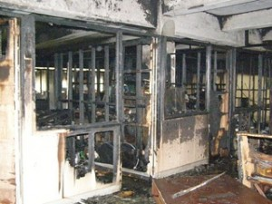 Soot damage _ ServiceMaster_Collinsville, IL