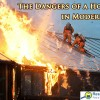 Fire safety challenges in modern homes.
