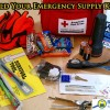 What should an emergency kit contain.