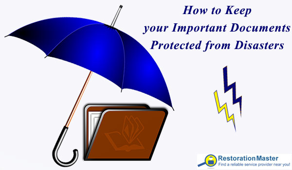 How to keep your documents protected from disasters.