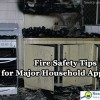 Appliance fire safety.