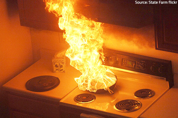 Be careful when using the electric appliances in your home.