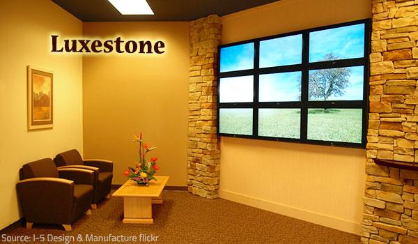 Lexestone allows for impressive designer options.