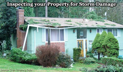 Inspecting your Property for Storm Damage