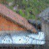 water damage from open window