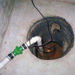 check sump pump to avoid water damage