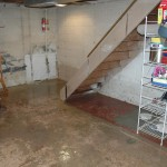 water damage cleanup for flooded basement