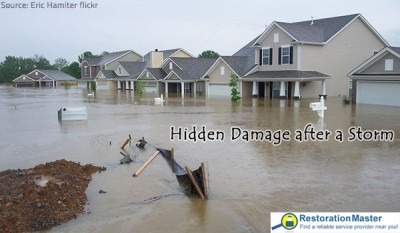 Looking for Hidden Damage after a Storm