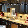 Why choose white granite countertops.