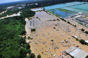 flood damage - Service Master