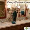 Bathroom countertop trends change over the years.