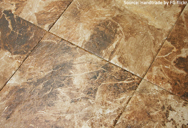 Porcelain tiles come in a great variety of textures, colors and styles.