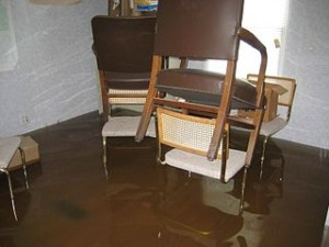 Flooded Home