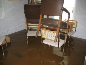 Water Damaged Chair