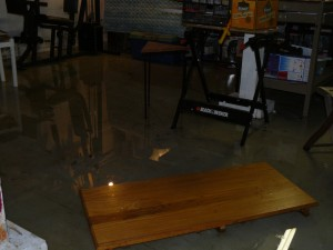 flooded basement like this is a very common problem