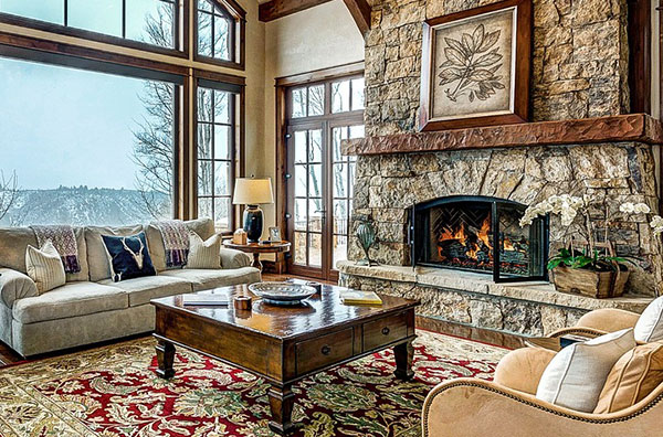 Take all the necessary precautions to ensure fireplace safety.